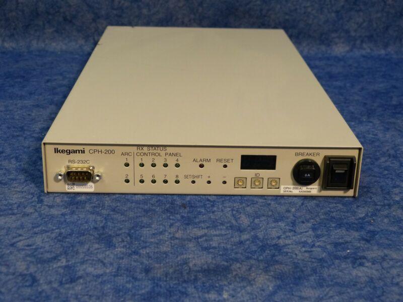 Ikegami CPH-200 Control Hub 8 Control Panel Connection Capability