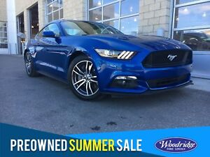 2017 Ford Mustang GT LEATHER SEATS, REVERSE CAMERA SYSTEM, SY...