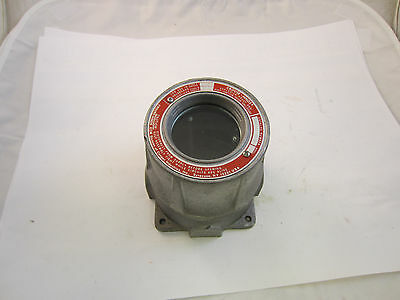 Crouse Hinds Emh521 Explosion Proof Instrument Meter Housing W 34 Openings