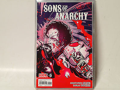 Sons Of Anarchy  6  Of 6  Boom Studios Comics 214 Vf