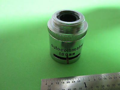 Microscope Optics Infrared Research Devices Autocollimator Objective Bin4t