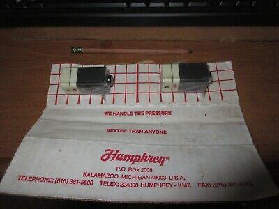 Humphrey 3e1 81 Solenoid Valve Mini-mizer 24vdc 0-100psig Qty Of 2
