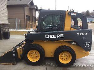 2013 320D John Deere Skid Steer