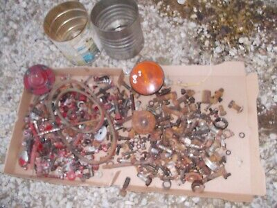 Farmall Cub Ih Tractor Rc Lb Box Of Parts Pieces Nuts Bolts Covers Clamp