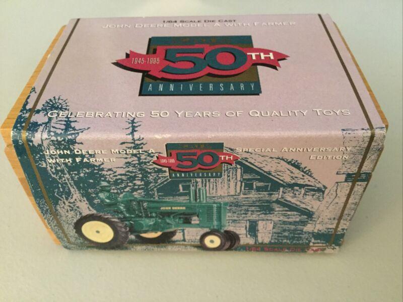 John Deere 50th Anniversary 1/64 Model A Tractor