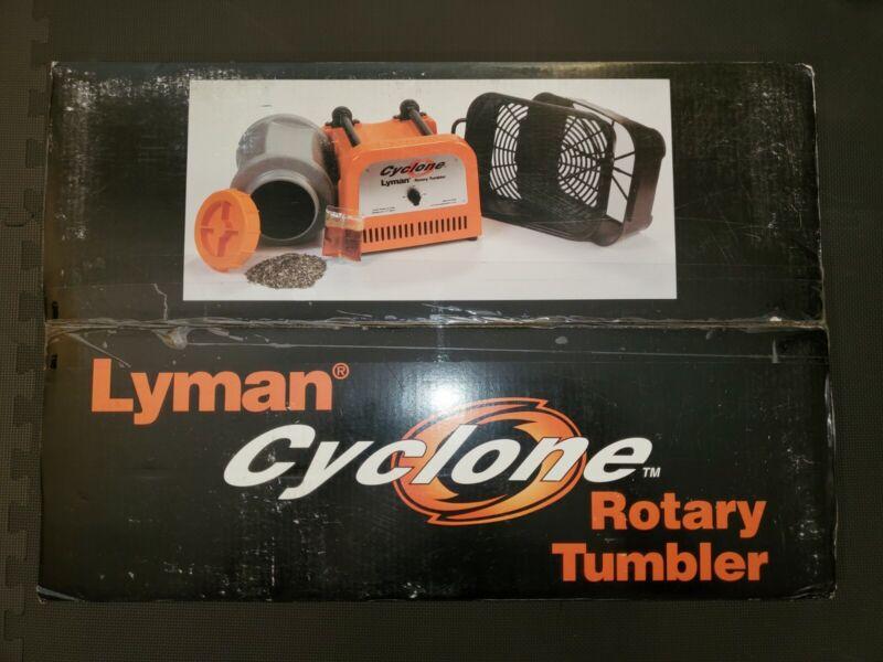 Lyman Cyclone Rotary Tumbler Orange