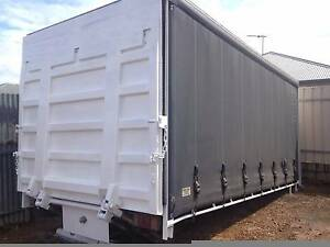 Tautliner ,Curtain Sider Body ,Pan, With  2,000kg Tailgate Blair Athol Port Adelaide Area Preview