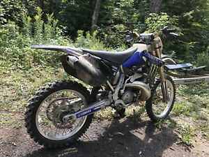 2007 yz250 with ownership