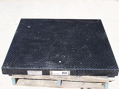 Mettler Toledo Vlx 48 X 48 Platform Scale Base Only 2500 Lb Capacity