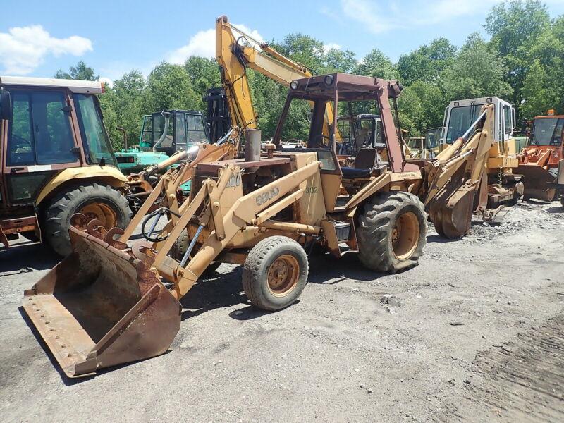 Case 580D Backhoe Loader RUNS NICE! Construction King 207 Diesel 580