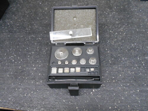 15 PIECES OF DENVER INS. 854254.1 STAINLESS STEEL CALIBRATION WEIGHT