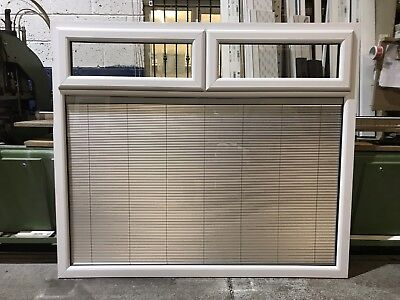 Second Hand UPVC Window, White, 1820mm Wide By 1570mm Height (W4250)