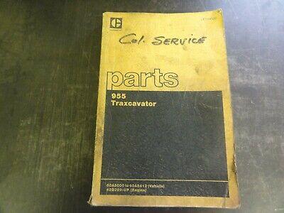 Caterpillar Cat 955 Traxcavator Parts Manual  Ueo34920