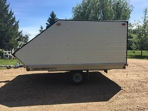 2 Place Featherlite Sled Trailer or utility trailer