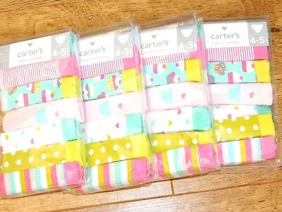BNWT CARTERS 7-PACK STRETCH COTTON BRIEF/KNICKERS cup cake mix  3 SIZES