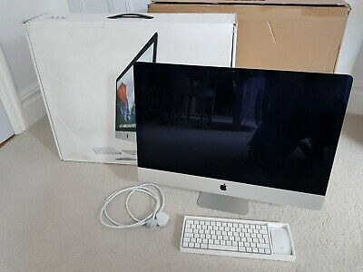 "Apple iMac 27"" Retina 5K Late 2015 3.2GHz i5 256GB 16GB RAM AMD M380 - Excellent"