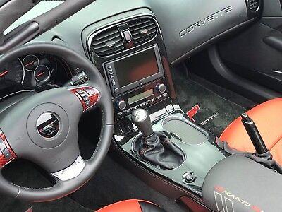 2005-13 Corvette C6 Z06 ZO6 ZR1 GS Carbon Fiber Center Console Bezel TRUE WEAVE for sale  Orlando