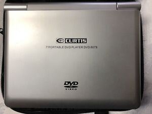 """Curtis 7"""" Portable DVD Player With Carrying Case"""
