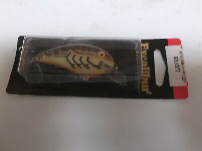Older Excalibur Square Bill Fat Free Shad Fingerling, Brown Crawdad for sale  Shipping to Nigeria