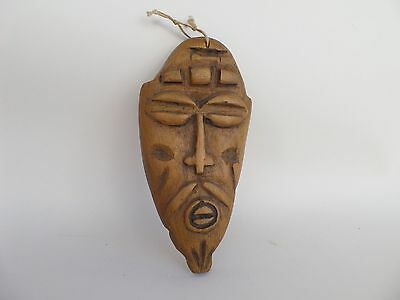Small Mask Genuine Unknown African Themed