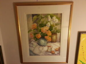 Still Life Watercolour Painting by Dorothy Russell
