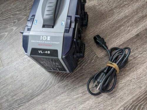 IDX VL-4S Quad V-Mount Battery Charger 4 Channel