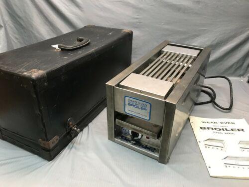 Miniature Working Salesman Sample Wear-Ever Aluminum Inc Direct Contact Broiler