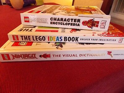 Lego Ninjago Character Encyclopedia Dictionary Ideas Book