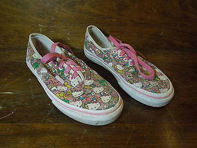 Vans Hello Kitty Pink Shoes Child Size 13.5 (Childrens Hello Kitty Vans)