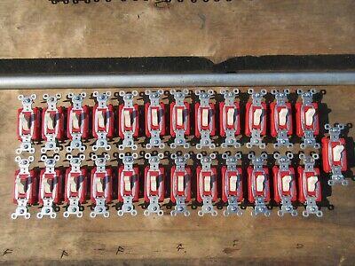 25 Ea Pass Seymour Legrand Csb20ac1-la Switch 20a 120v277v Light Almond