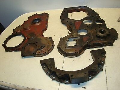 1960 Massey Ferguson 65 Diesel Tractor Front Engine Timing Covers