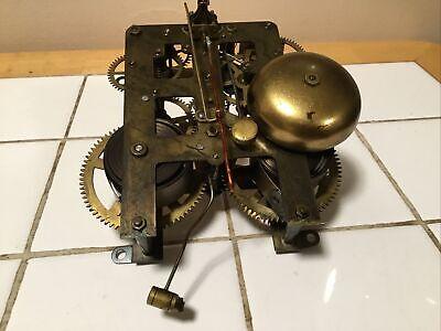 "Antique Waterbury Mantel Clock Movement ""For Restoration"""