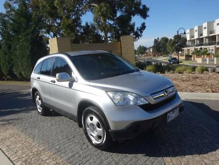 2008 Honda CR-V SUV, 6 SPEED MANUAL, WITH RWC AND REGO