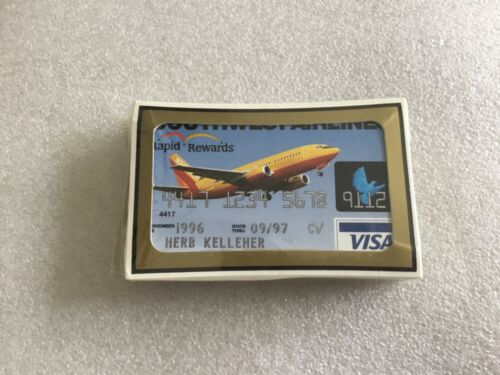 SOUTHWEST AIRLINES RAPID REWARDS PLAYING CARDS Sealed Vintage Collectible