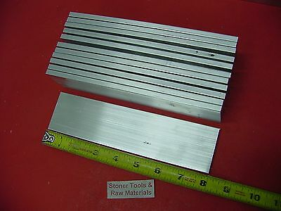 12 Pieces 14 X 3 Aluminum Flat Bar 8 Long 6061 T6511 Extruded Mill Stock