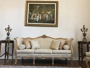 Antique Sofa and 2 chairs