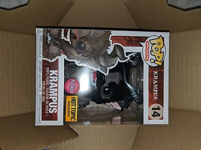 Funko Pop Holidays  14 Flocked Krampus Hot Topic Exclusive In Hand Now