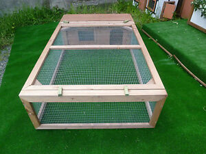 #  5' X 3' Guinea Pig/Rabbit  RUN with HUT SHELTER #