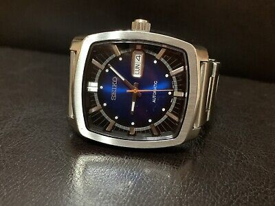 Seiko Recraft Automatic Blue Dial Stainless Steel Men's Dress Watch SNKP23