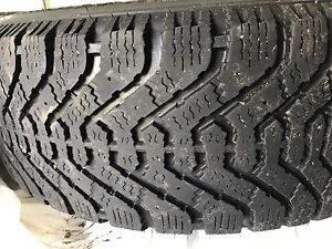 4 winter tires on rims 200$