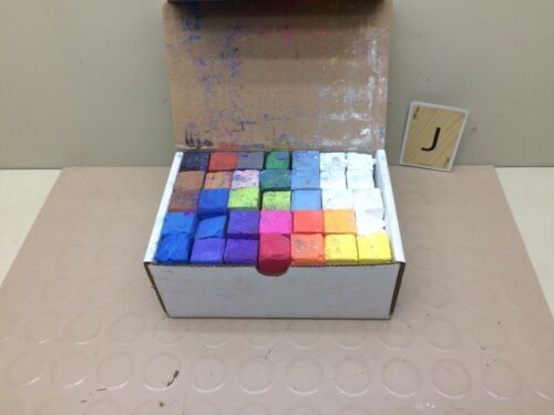 Eternity Arts Hand Made Soft Chalk Pastels Set for Art Drawing 35 Asst. Colors