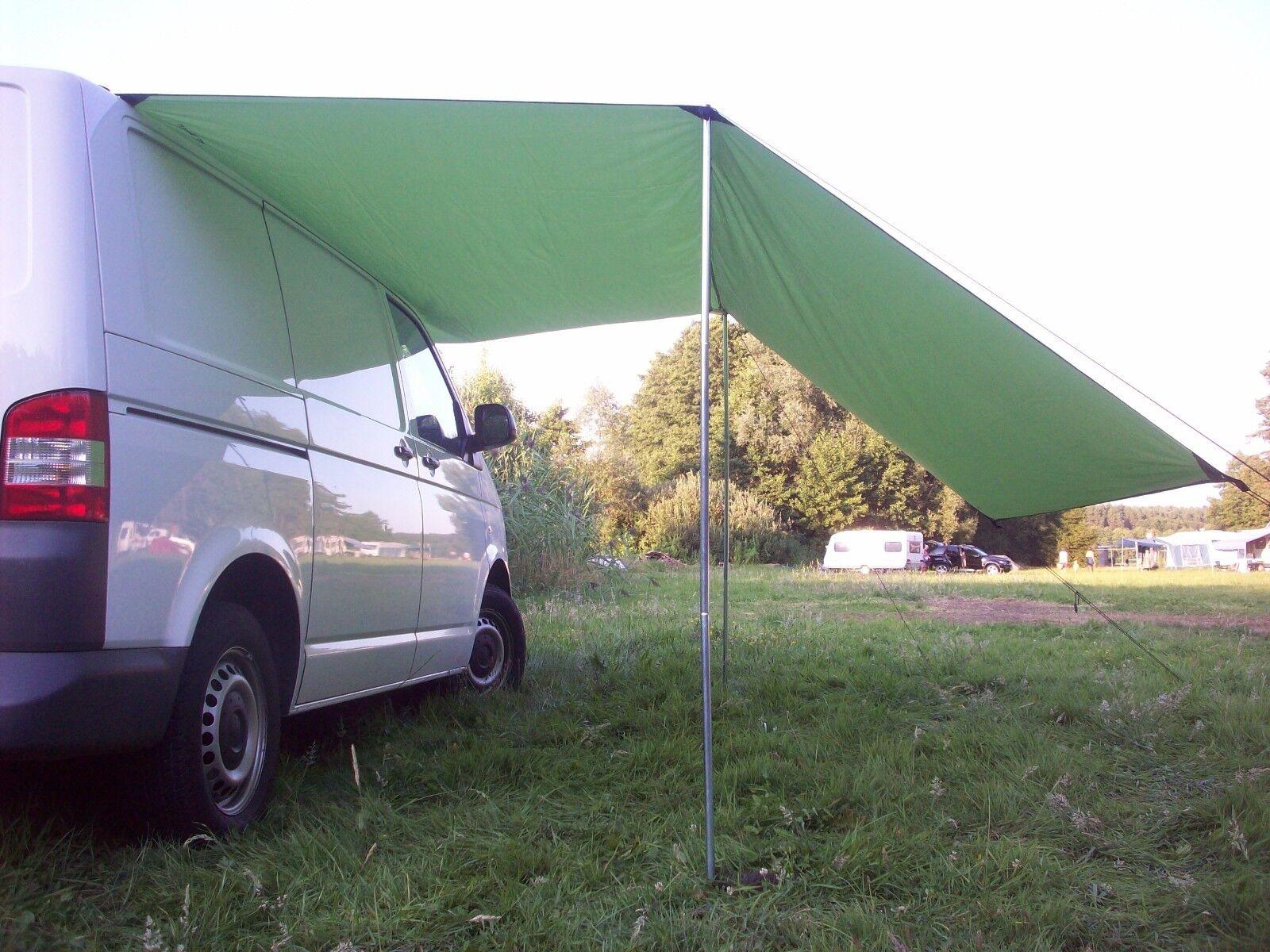 Sonnensegel-Vorzelt-Markise-Vordach-Sonnendach VW Bus Bulli T1-T2-T3-T4-T5 Fiat.