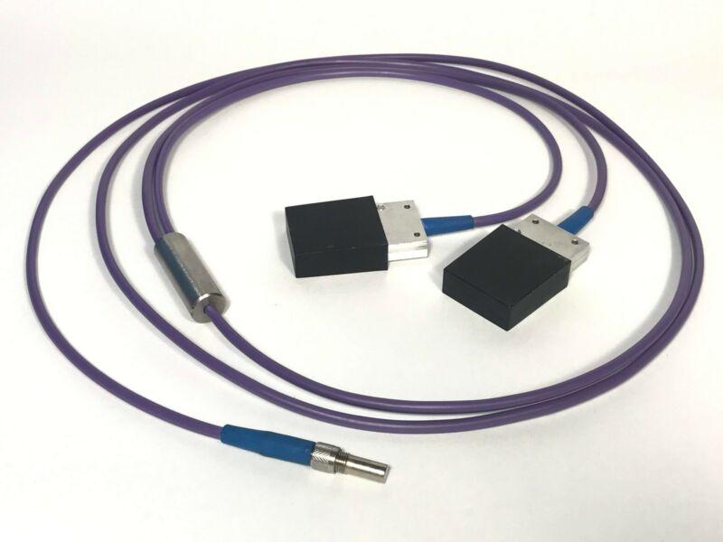 2 Fiber Optic Arrays to SMA Bundle 808nm Laser Diode Bar Spectra Physics FCBar