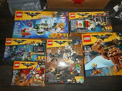 LEGO The Batman Movie lot x6 Justice League Anniversary Clayface Egghead Joker +