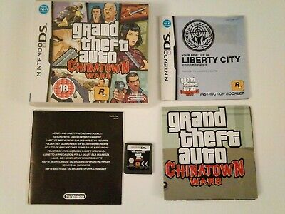 Grand Theft Auto Gta Chinatown Wars Nintendo Ds UK version for sale  Shipping to Nigeria