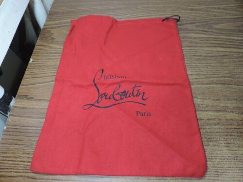 christian louboutin Shoe purse Dust bag 15 x 11.5