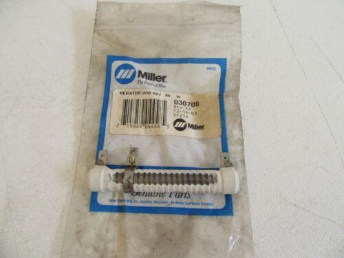 Miller 030700 Resistor Adjustable 50 Watt .5 ohm