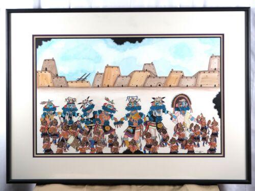 Edgar Sumatzkuku Original Painting