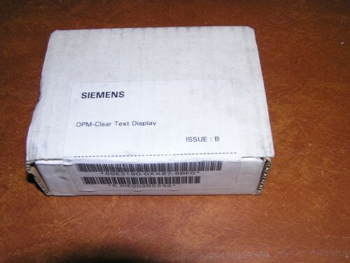 Siemens 6SE3190-0XX87-8BF0 OPM Clear Text Display NEW IN SEALED BOX!