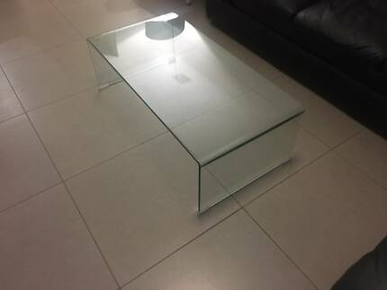 Ghost Glass Table